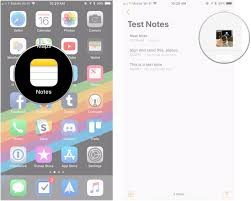 How to add photos videos scans and sketches to Notes on iPhone