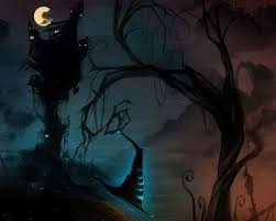 Halloween Pennant Mantel Scarf by Halloween 2014 Wallpaper Free Scary Halloween Backgrounds