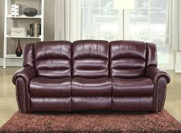 Darrin Leather Reclining Sofa With Console by Mission Reclining Sofa And Loveseat Set Lane With Drop Down Table
