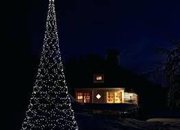 Flagpole Christmas Tree Exquisite Ideas Kit Diy