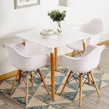 bathrins 2er set esszimmerstühle skandinavische stühle
