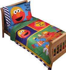 sesame street elmo toddler bedding 4 pc set toddler bedding sets