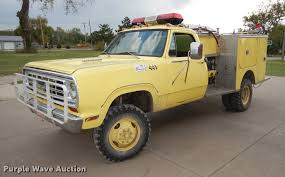 1976 Dodge Power Wagon W30 Mini Pumper Fire Truck | Item DD0...