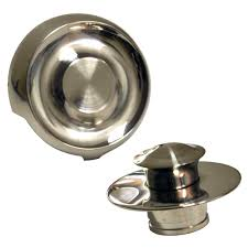 Bathtub Drain Strainer Cover by Universal Tub Drain Trim Kit In Brushed Nickel Danco
