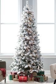 Best Fake Christmas Tree Artificial Trees Tall Skinny Lit Uk Asda