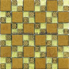 golden select glass and aluminum mosaic wall tiles golden select