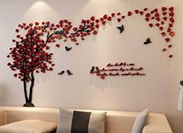 3d Couple Tree Wall Murals For Living Room Bedroom Sofa Backdrop Tv Background Originality