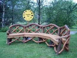 Lovable Rustic Garden Furniture 25 Best Ideas About Outdoor On Pinterest Diy
