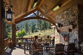 100 Mountain Home Architects Outdoor Patio House Design Most Fabulous S