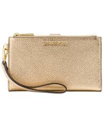 MICHAEL Michael Kors Double Zip iPhone 7 Plus Wristlet Handbags