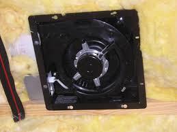 Install Bathroom Vent No Attic Access by Fixing Bathroom Fan