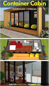 100 Shipping Container Guest House A Shipping Container Cabin Designed Using A Single 20 Foot Shipping