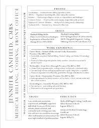 Medical Billing Resume Of Manager Unique Objective For
