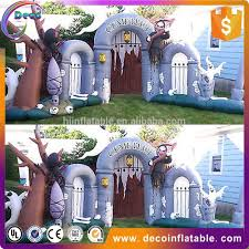 Halloween Inflatable Archway Tunnel by Inflatable Halloween Cemetery Inflatable Halloween Cemetery