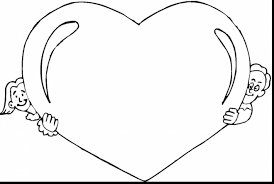 Astounding Heart Coloring Page Print With Pages For Valentines Day And Bible