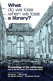 what do we lose when we lose a library