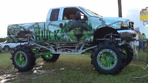 100 Ford Mud Trucks FORD MEGA TRUCKTHE HULK Bogging Bithlo Bog YouTube