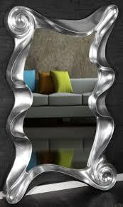 casa padrino designer wandspiegel silber 106 x 7 x h 160 cm moderner wohnzimmer spiegel garderoben spiegel designer möbel