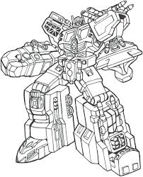 Coloriage Transformers Bumblebee