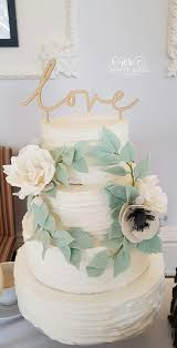 Four Tier Rustic Iced Wedding Cake With Floral Wreath By White Rose Design Maker In Huddersfield West Yorkshire