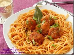 spaghetti aux boulettes de viande la cuisson al dente des pâtes