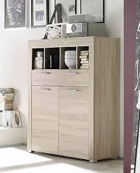 kommode sonoma eiche hell highboard wohnzimmer schrank esszimmer boom touchwood ebay