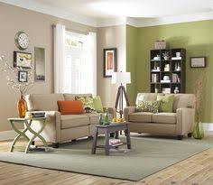 Green And Cream Living Room Rooms Colors