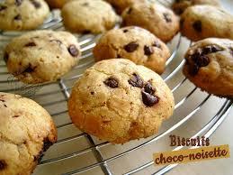 biscuits choco noisettes il était une fois la pâtisserie