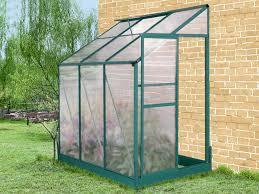 serre de jardin murale en polycarbonate 1 serre jardin