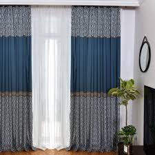 amerikanischer vorhang aus polyester und baumwolle für