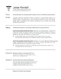 Examples Of Objectives For Resumes In Healthcare Objective Resume