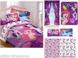 kids girls hasbro my little pony bedding bed in a bag comforter