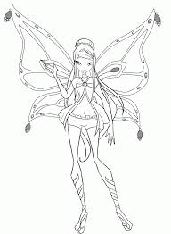 Winx Club Printable Coloring Pages Winks Home