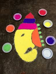 5 Easy Rangoli Designs For Ganesh Chaturthi - BuzzingBubs Rangoli Designs Free Hand Images 9 Geometric How To Put Simple Rangoli Designs For Home Freehand Simple Atoz Mehandi Cooking Top 25 New Kundan Floor Design Collection Flower Collection6 23 Best Easy Diwali 2017 Happy Year 2018 Pooja Room And 15 Beautiful And For Maqshine With Flowers Petals Floral Pink On Design Outside A Indian Rural 50 Special Wallpapers