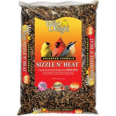 Wild Delight 372140 14 lb Sizzle N' Heat Bird Food