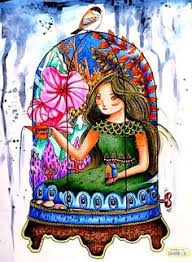 Colored From Doodlers Anonymous Color Book