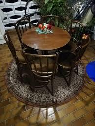 runder tisch mit 6 stühlen zu verkaufen
