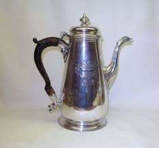 Georgian Sterling Silver Coffee Pot 1751 Item 1104936