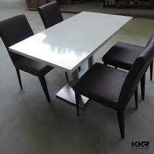 Cheap Modern 2 Seater Dining Tables Quartz Stone