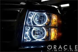 oracle color changing headlight and foglight halo kits for chevy