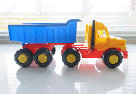 100 Big Toy Dump Truck Ttipper Industrial Vehicle Plastic Yellow