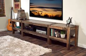 Rustic Reclaimed Pallet Wood Style Entertainment Center TV Stand Coffee Table