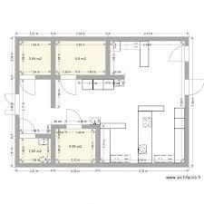 cuisine professionnelle plan 4 pièces 17 m2 dessiné par mathieulalot