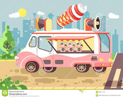 Vector Illustration Cartoon Car With Refrigeration Unit, Truck For ... Creamy Dreamy Ice Cream Trucks Value And Pricing Rocky Point Big Bell Cream Truck Menus Creamery Pinterest Best Photos Of Truck Menu Prices Dans Waffles Dans Waffles Services Chriss Treats A Brief History The Mental Floss Ice In Copley Square Boston Kelsey Lynn I Scream You We All For Carts At Weddings The Mister Softee So Cool Bus Parties Allentown Lehigh Valley