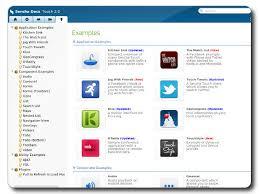 sencha exles turnkey gnu linux screenshot