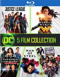 100 Blu Home Video HOME VIDEO Ray 5 Film Collection DC_Cinematic