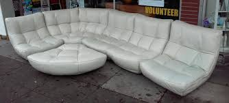 Chateau Dax Italian Leather Sofa by Uhuru Furniture U0026 Collectibles Sold Chateau D U0027ax Ultramodern