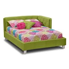 Value City Furniture Tufted Headboard by Jordan Ii Kids Furniture Full Corner Bed Value City Furniture