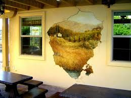 Painting Wall Murals For Class Room Design Ideas