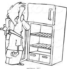 Load Dishwasher Clip Art Empty Fridge
